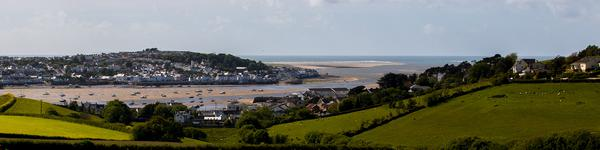 A view of the River Torridge from above Instow